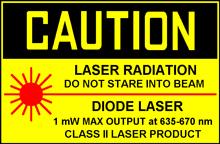laser class II